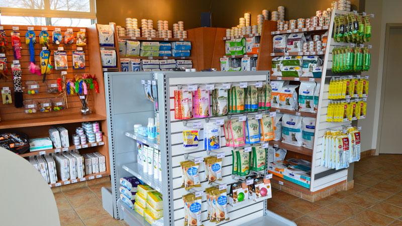 La boutique de la Clinique vétérinaire de Lachenaie