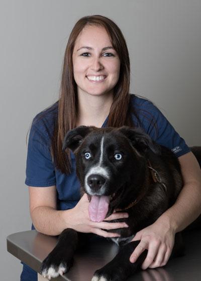 Jade Leblanc, technicienne en santé animale