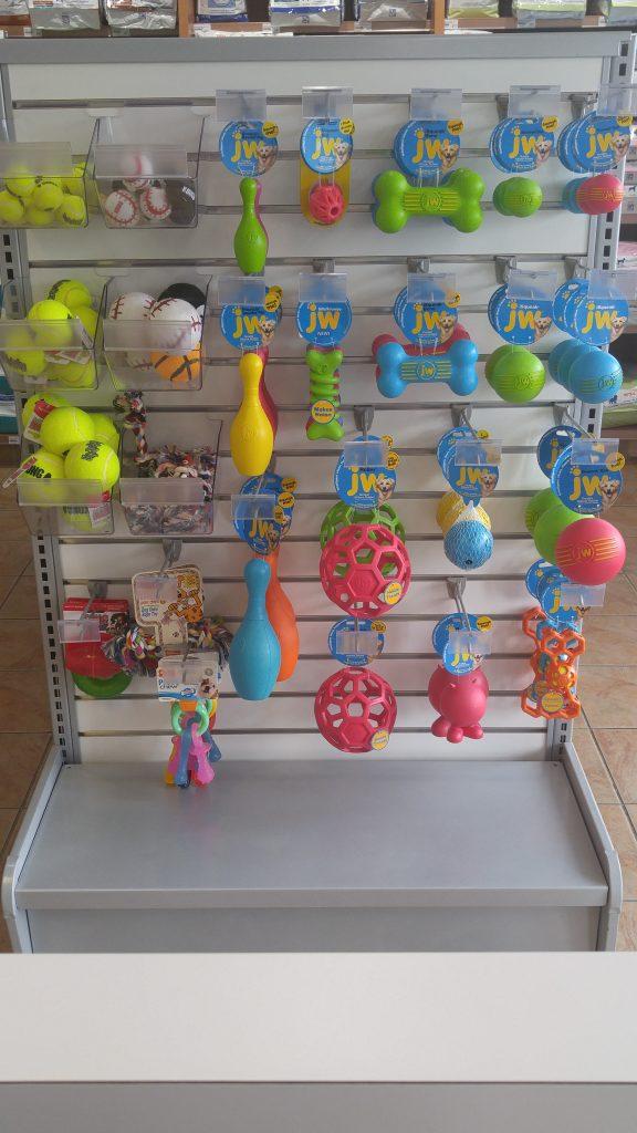 Jouets et balles pour chien